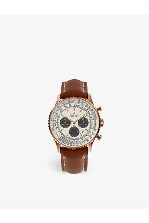 Breitling Mens RB0127121G1P1 Navitimer B01 Chronograph Stainless Steel Watch