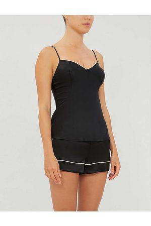 Agent Provocateur Womens Classic Silk-satin Camisole Pyjama top S