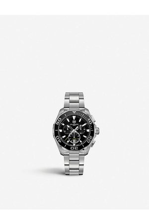 Tag Heuer Mens CAY111A.BA0927 Aquaracer Stainless Steel Watch