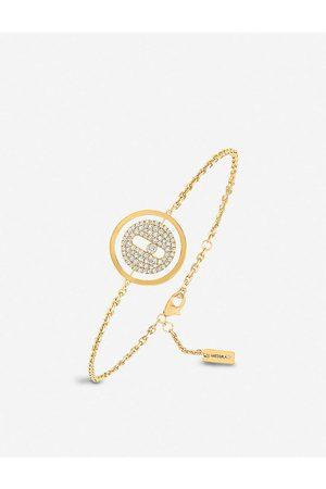 MESSIKA Womens Lucky Move 18ct - and Pavé Diamond Bracelet