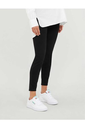 Spanx Womens Very Mama Ankle Jean-ish High-rise Stretch-jersey Maternity Leggings S
