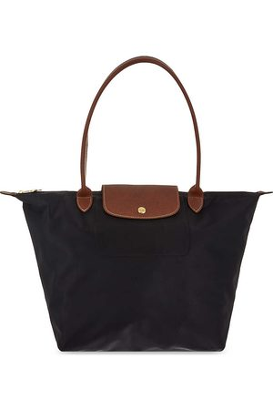 Longchamp Ladies Leather Le Pliage Shopper Bag
