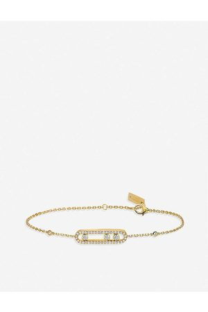 MESSIKA Womens Baby Move 18ct -gold and Pave Diamond Bracelet