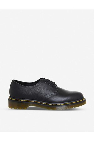 Dr. Martens Womens Virginia 3-eyelet Leather Shoes 8