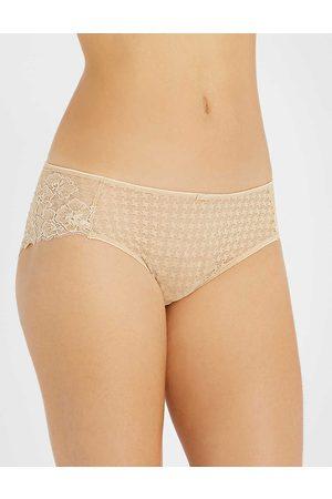 Panache Women's Nude Envy Stretch-Lace Briefs
