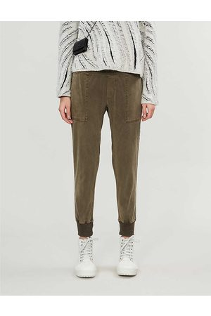 James Perse Women Sports Trousers - Faded cotton jogging bottoms