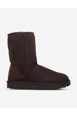 UGG Women's Dark Classic Ii Short Sheepskin Boots
