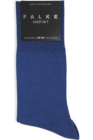 Falke Mens Sapphire Airport Knitted Socks