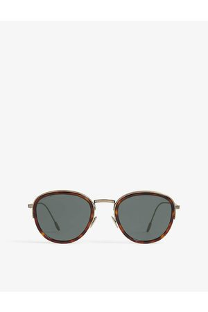 Armani Ar6068 round-frame sunglasses