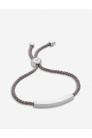 Monica Vinader Womens Linear Sterling-silver Friendship Bracelet 1 Size