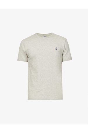 Polo Ralph Lauren Mens New Heather Custom Slim-fit Cotton-jersey T-shirt L