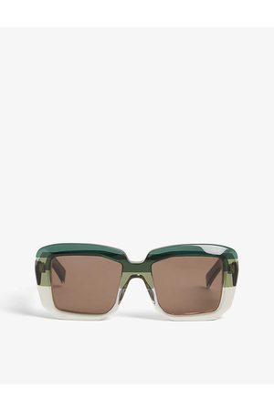 Marni Womens ME632S Square-frame Sunglasses