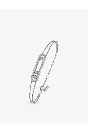 MESSIKA Womens Move 18ct - and Pavé Diamond Bracelet