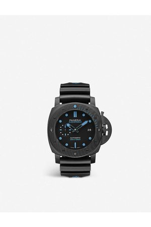 PANERAI Mens PAM01616 Submersible CARBOTECH™ and Rubber Watch 1 Size