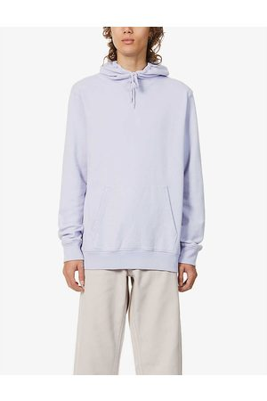 Colorful Standard Mens Soft Lavender Relaxed-fit Organic Cotton-jersey Hoody M