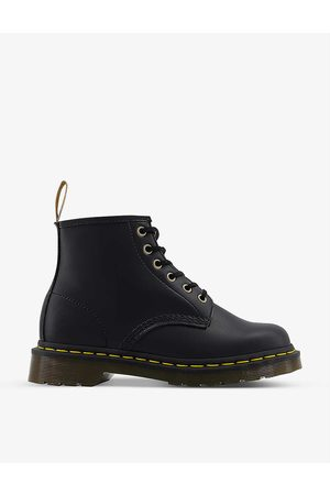 Dr. Martens Women Ankle Boots - 101 6-eye faux-leather ankle boots