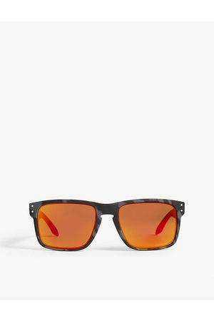Oakley Mens Classic Holbrook O-Matter Polarised Square-Frame Sunglasses