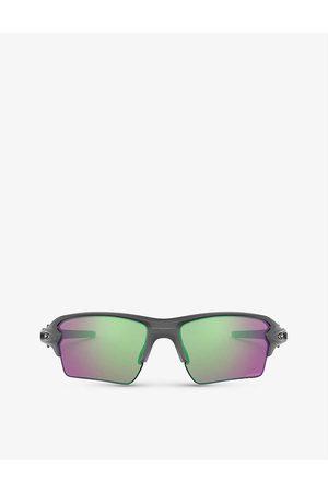 Oakley Mens OO9188-F359 Flak™ 2.0 XL O Matter™ Rectangular-framed Sunglasses