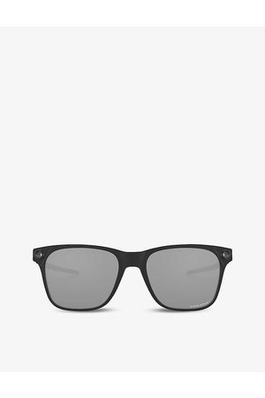 Oakley Mens OO9451-0555 Apparition™ Nano-Matter™ and Stainless Steel Sunglasses