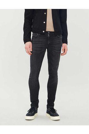 Nudie Jeans Mens Worn Skinny Lin Faded Slim Jeans 28/32