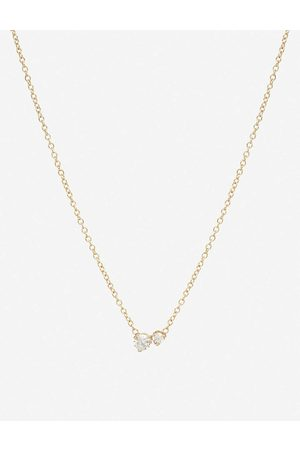 The Alkemistry Womens Zoë Chicco 14ct - and two Diamonds Large Necklace