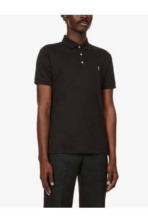 Polo Ralph Lauren Mens Polo Logo-embroidered Cotton-jersey Polo Shirt S