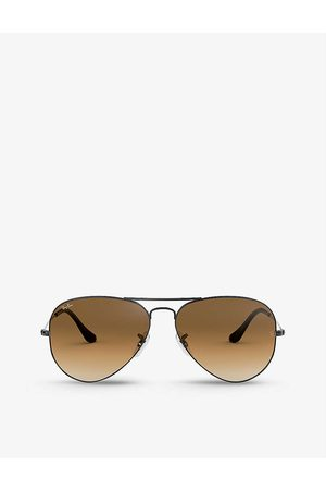 Ray-Ban Mens RB3546 Phantos-frame Metal Sunglasses