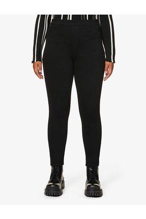 Spanx Womens Jean-ish Cotton-blend Leggings XS