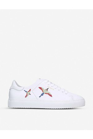 Axel Arigato Womens /oth Clean 90 Bird-embroidered Leather Low-top Trainers EUR 35 / 2 UK Women