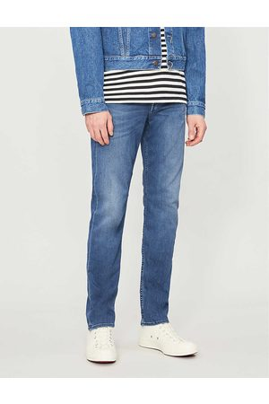 7 for all Mankind Mens Cotton Slimmy Tapered Luxe Performance Plus Slim Jeans