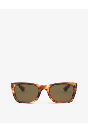 Ray-Ban Mens RB2248 Rectangle-frame Sunglasses