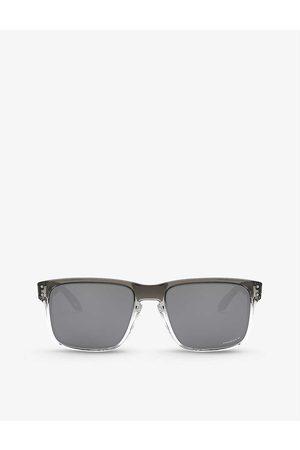 Oakley Mens OO9102 Holbrook Gradient Acetate Sunglasses