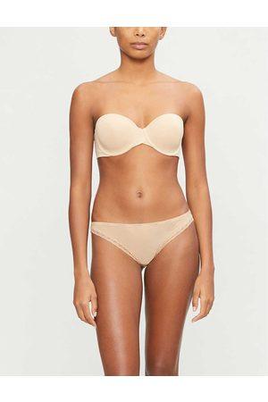 Calvin Klein Womens 20n Bare Underwired Microfibre Strapless bra 30C