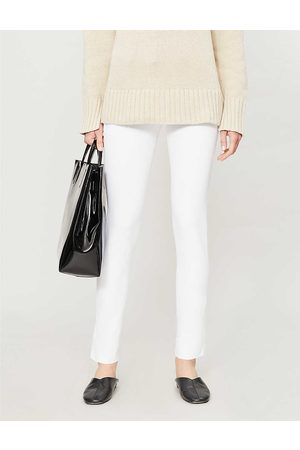 Joseph Womens New Eliston Stretch-gabardine Slim-leg Trousers 6