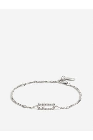 MESSIKA Womens Move Uno 18ct -gold and Pavé Diamond Bracelet