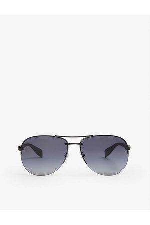 Prada Linea Rossa Mens PS 56MS Aviator Metal Sunglasses