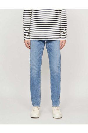 Nudie Jeans Mens Lost Lean Dean Slim-fit Tapered Jeans 28/32