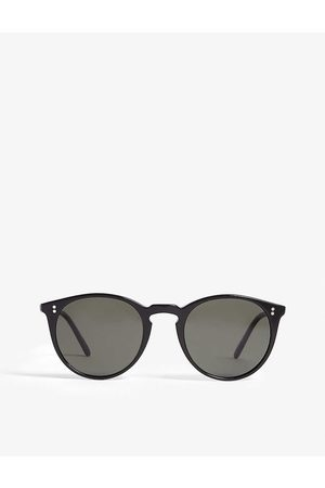 Oliver Peoples Mens O'Malley Round-frame Sunglasses