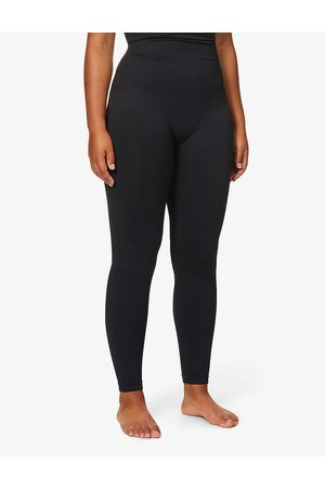 Spanx Womens Very Look At Me High-waist Stretch-jersey Leggings L