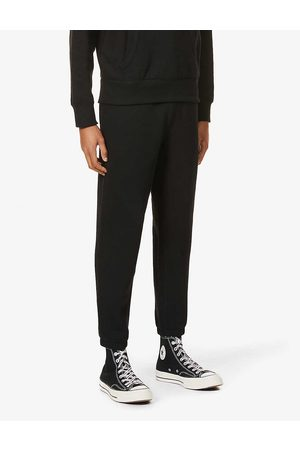 Polo Ralph Lauren Mens Polo Logo-embroidered Mid-rise Cotton-blend Jersey Jogging Bottoms S