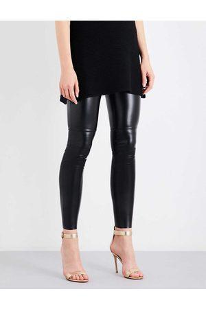 Wolford Women's Estella Leatherette Leggings