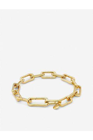 Monica Vinader Womens Alta Capture 18ct -vermeil Charm Bracelet