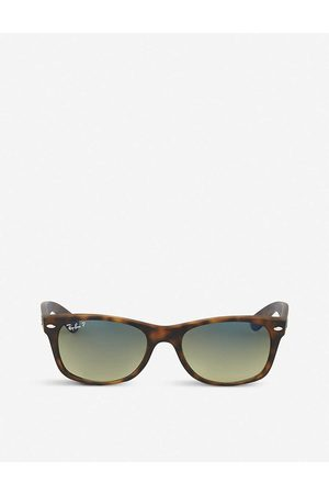 Ray-Ban Mens Matte Havana Tortoiseshell Finish Wayfarer Sunglasses Rb2132 52