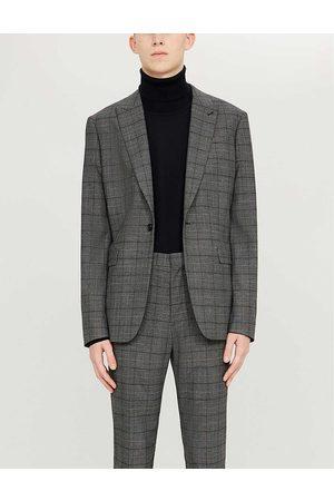 Sandro Mens Turtleneck Fine-knit Wool Jumper M