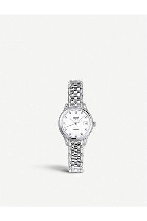 Longines Mens Stainless Steel Heritage Bracelet Watch L4.274.4.27.6