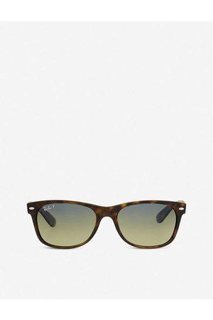 Ray-Ban Mens Matte Havana Rb2132 Tortoiseshell New Wayfarer Sunglasses