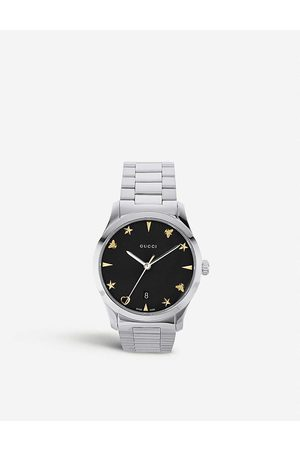 Gucci YA1264029 G-Timeless stainless steel watch