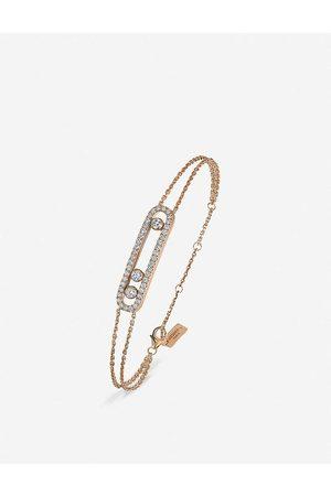 MESSIKA Womens Move 18ct Rose- and Diamond Bracelet