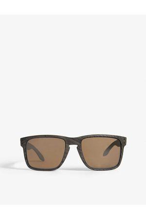 Oakley Mens Classic Holbrook Xl O-Matter Polarised Square-Frame Sunglasses