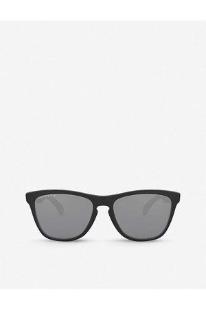 Oakley Mens OO9013 55 Frogskins™ Square-frame O-Matter Sunglasses